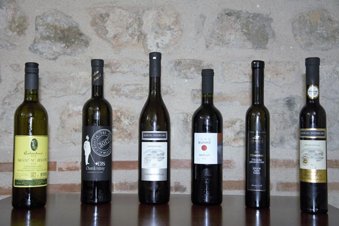 Sva vina koja se spominju u tekstu